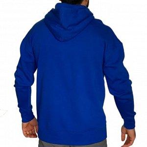 Брендовая мужская толстовка-кенгуру Bonds – хитовый цвет «синий электрик» №119