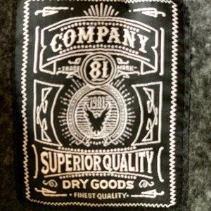 Мужская толстовка-кенгуру Company 81 – новый фасон сезона с капюшоном и карманом на молнии №110