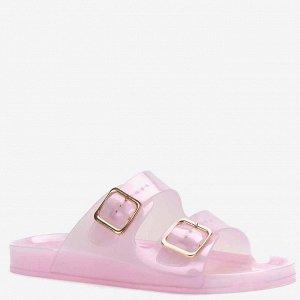 807789/01-07 сиреневый ПВХ женские туфли открытые