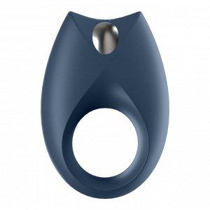 Виброкольцо Satisfyer Royal One Ring (10 режимов, синхронизируется со смартфоном)