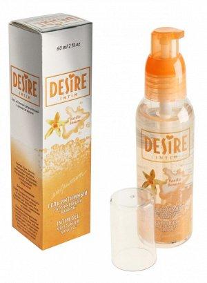 Гель-любрикант DESIRE (ваниль) 60 мл
