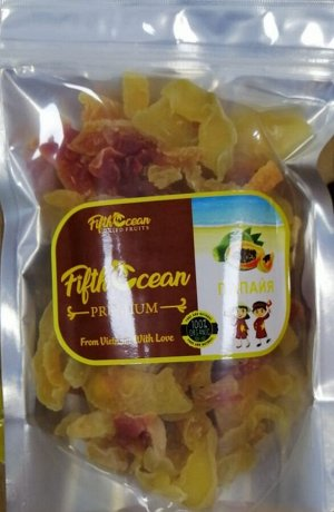 Сушеная папайя 500 гр
