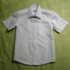 Сорочка для школы 116-120