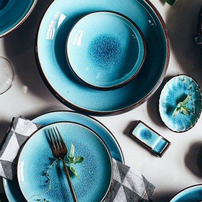 Красивая сервировка стола, пробуждает аппетит! — Тарелки, салатники — Тарелки