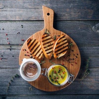 Красивая сервировка стола, пробуждает аппетит! — Разделочные доски — Ножи и разделочные доски