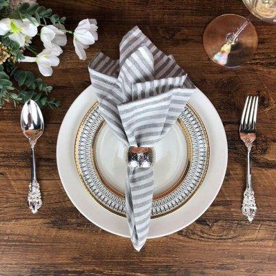 Красивая сервировка стола, пробуждает аппетит! — Салфетки, скатерти для стола — Салфетки для сервировки