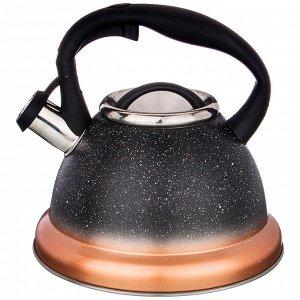 Чайник ЧАЙНИК AGNESS СО СВИСТКОМ, 3Л C ИНДУКЦИОН. КАПСУЛЬНЫМ ДНОМ  Материал: Нержавеющая сталь Чайник AGNESS - это надежность, функциональность и стильный дизайн. Чайник выполнен из нержавеющей стали
