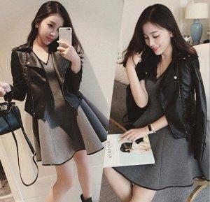 Куртка В нашем сверхскоростном мире одежда должна быть практичной, модной и обязательно удобной. Особое место в гардеробе женщины всегда имеет кожаный пиджак, который соединяет в себе удобство и стиль