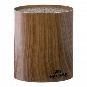 Подставка для ножей овальная Wood, 16x7x16см