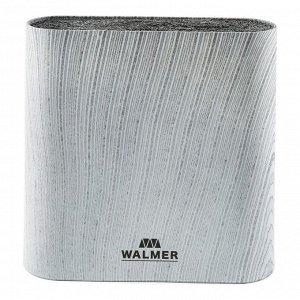 Подставка для ножей Grey Lines,  21.5*6.1*23 см, овальная, серая