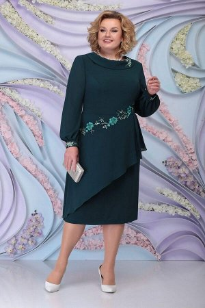 Платье Ninele 5800 изумруд