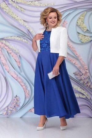Жакет, платье Ninele 359 василек