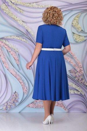 Жакет, платье Ninele 1178 василек