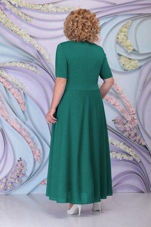 Блуза, платье Ninele 3160 изумруд