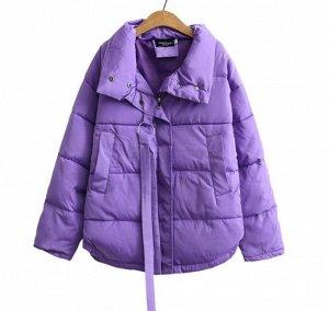 Пуховик,фиолетовый