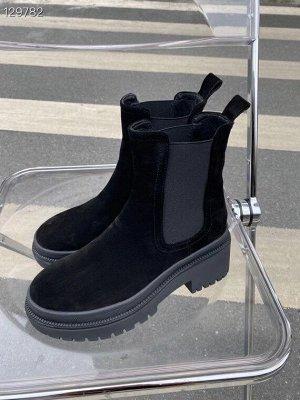 Ботинки Нат.замша,внутри утепление байка (пишем в примечании(внутри с байкой,без байки)