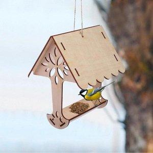 Kopмушка для птиц «Дерево», 18 ? 16 ? 15 см