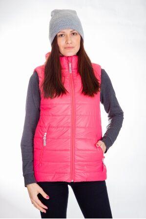 М-92 Жилет женский утепленный стеганный (розовый)