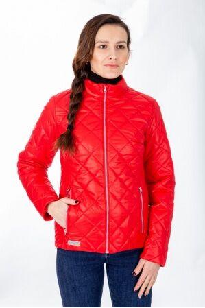 М-44 Куртка демисезонная женская  (красный)
