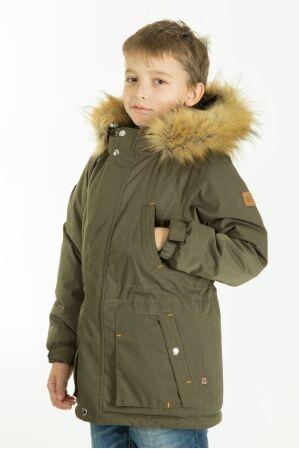 Куртка-парка зимняя КМ-004 (хаки)