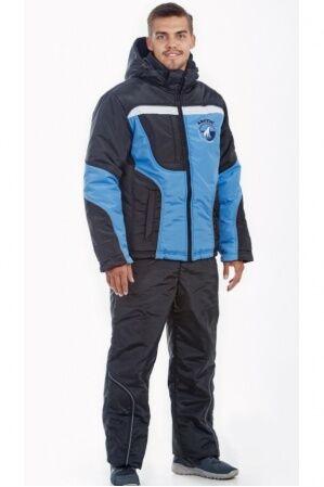 Зимний мужской костюм М-12 (голубой)