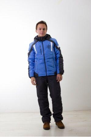 Зимний мужской костюм М-243 (голубой)