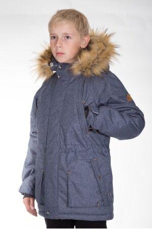 Куртка-парка зимняя КМ-004 (джинс)