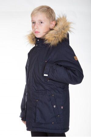 Куртка-парка зимняя КМ-004 (темно-синий)