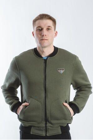 Куртка - бомбер мужская (хаки) М-30