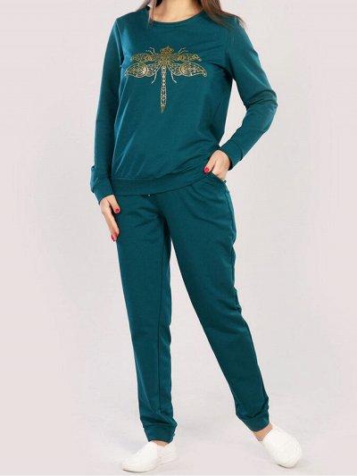 Океан текстиля — носки, трусы упаковками. Одежда для дома — Женский трикотаж. Костюмы с брюками 3 — Костюмы с брюками