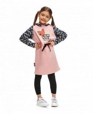 Платье МИ-МИ-МИШКИ© розовое