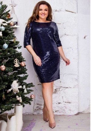 Платье Ткань: пайетки на подкладе БЕЗ ВЫБОРА ЦВЕТА