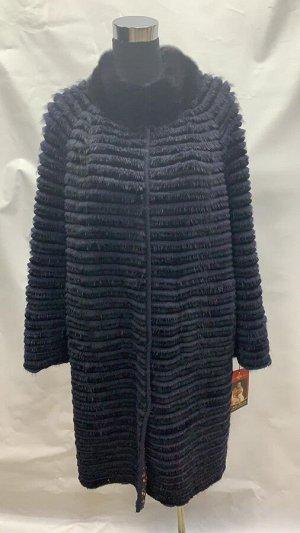 Пальто вязанное