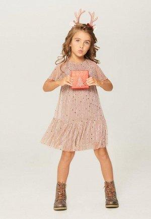 Платье детское для девочек Alia светло-розовый