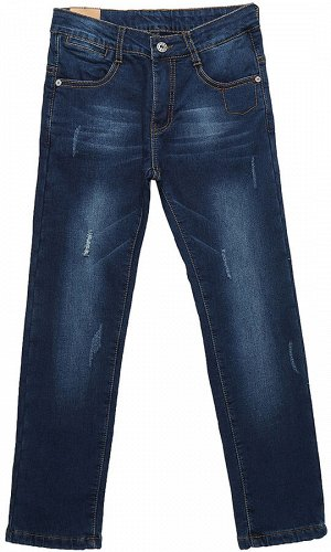 Брюки джинсовые для мальчиков утеплённые