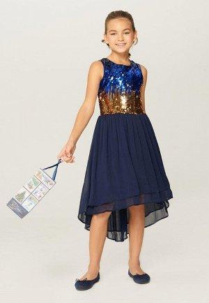 Платье детское для девочек Talitha-Inf темно-синий