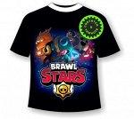 Детская футболка «Brawl stars» Герои