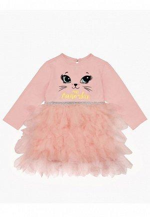 Платье детское для девочек Besta светло-коралловый