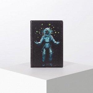 Обложка для паспорта, цвет чёрный 5180166