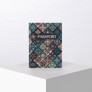 Обложка для паспорта, цвет разноцветный 5191687
