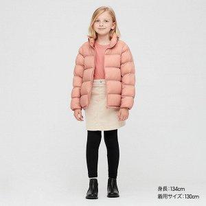 Детский пуховик, розовый