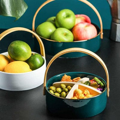 Красивая сервировка стола, пробуждает аппетит! — Храните фрукты красиво! — Корзинки