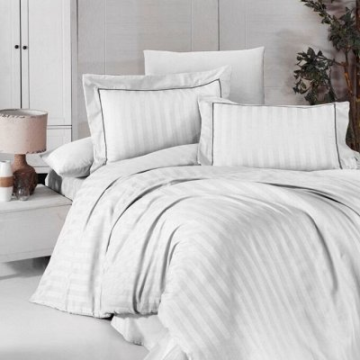 Мягкие, белоснежные полотенца по отличной цене. В наличии — Постельное белье страйп-сатин. Роскошь и качество