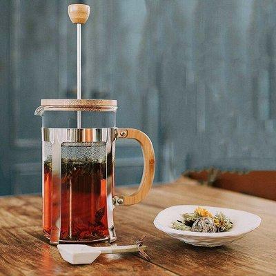 Красивая сервировка стола, пробуждает аппетит! — Френч-прессы, заварите любимый чай — Френч-прессы