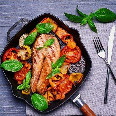 Красивая сервировка стола, пробуждает аппетит! — Кастрюли, сковороды, казаны — Классические сковороды