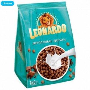 LEONARDO Экструзион.шарики шоколадные 250г/16
