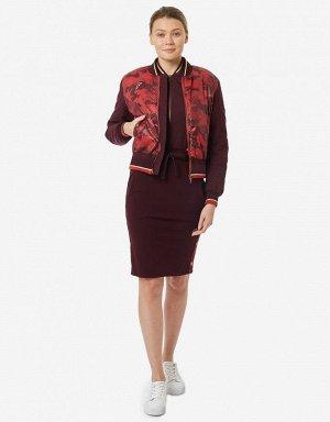 Куртка женская (бордовый/красный)