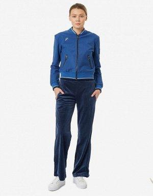 Куртка тренировочная женская (синий)