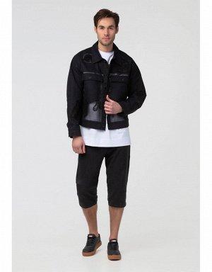 Куртка джинсовая мужская (черный)