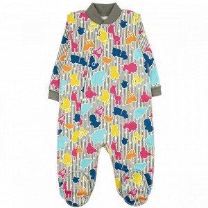 Комбинезон футер 0120300603 для новорожденного